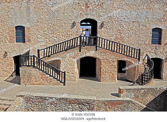 Castillo de San Pedro de la Roca 1669, UNESCO World Heritage Site, near Santiago de Cuba, Cuba