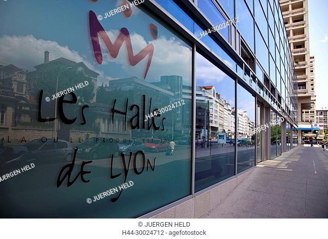 Les Halles de Lyon, Gourmet market, Lyon, Rhone Alps, France