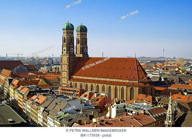 Cathedral of our blessed Lady, Munich, Bavaria, Germany
