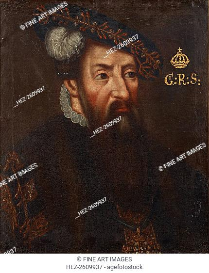 Portrait of the King Gustav I of Sweden (1496-1560), um 1700. Artist: Anonymous