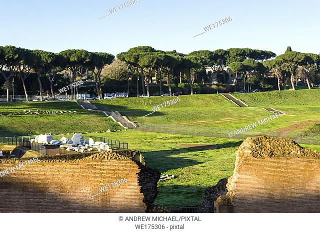 Circus Maximus is an ancient Roman chariot racing stadium and mass entertainment venue located in Rome, Italy