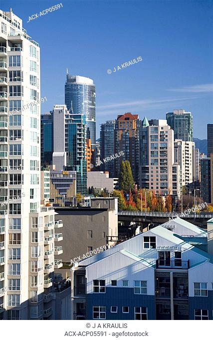 Downtown Buildings, Vancouver, British Columbia, Canada