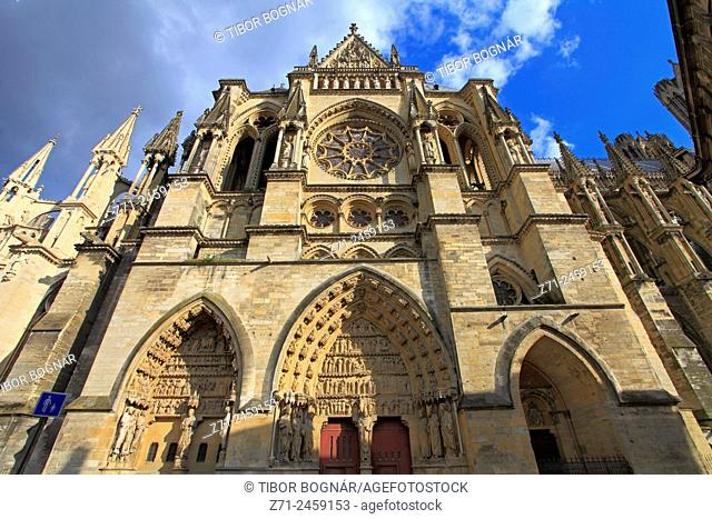 France, Champagne-Ardenne, Reims, Cathédrale Notre-Dame, cathedral