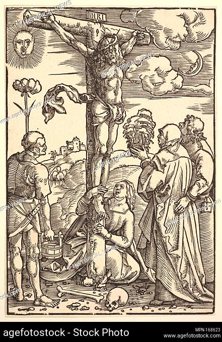 Christ on the Cross with the Virgin and Saints Longinus, Mary Magdalen and John. Artist: Hans Baldung (called Hans Baldung Grien) (German