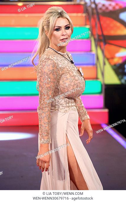 Celebrity Big Brother 2017 Launch night - Arrivals Featuring: Nicola McLean Where: Borehamwood, United Kingdom When: 03 Jan 2017 Credit: Lia Toby/WENN