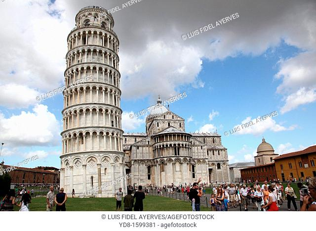 Cathedral of Santa Maria Assunta and Campanile Leaning Tower, UNESCO World Heritage, Pisa