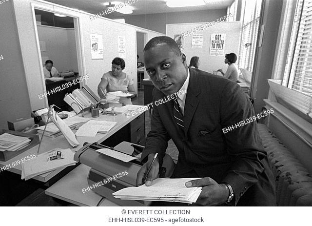 Vernon Jordan, was an African American lawyer, June 15, 1967. He was director of the Southern Regional Council for the Voter Education Project from 1964-68