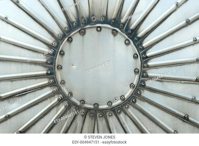 Metal Plate as Design Element