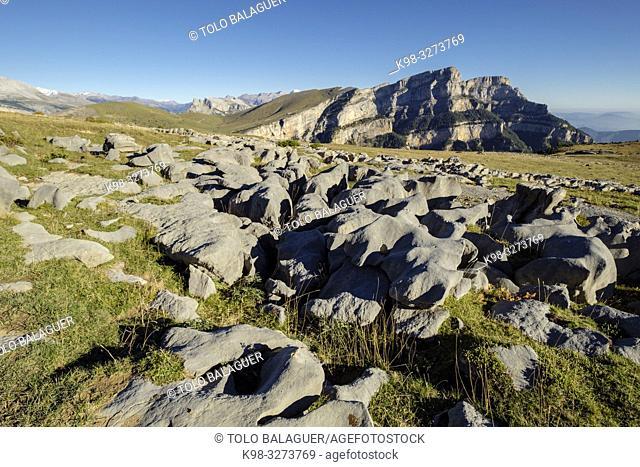 parque nacional de Ordesa y Monte Perdido, comarca del Sobrarbe, Huesca, Aragón, cordillera de los Pirineos, Spain