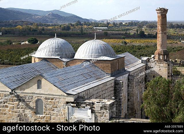 The Isabey Mosque (Turkish: Isabey Camii), constructed in 1374 1375, is one of the oldest and most impressive works of architectural art remaining from the...