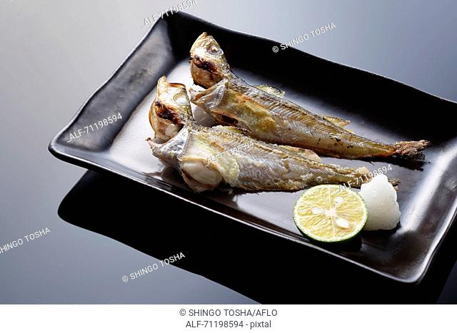 Japanese style grilled fish