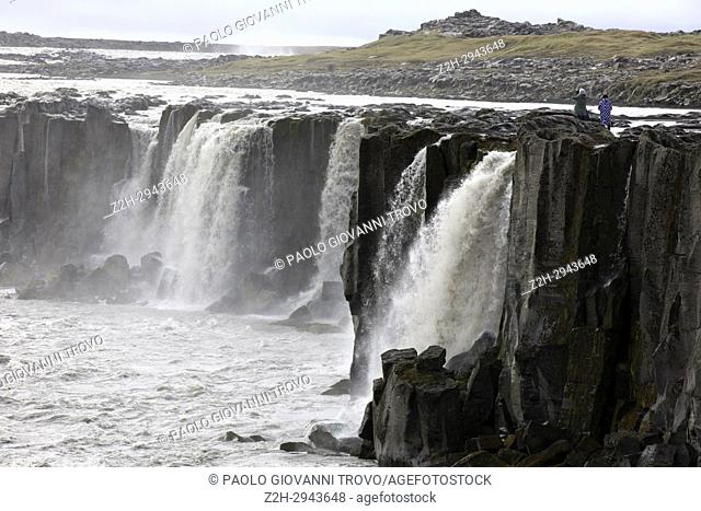 Sellfoss waterfall, Iceland, Europe