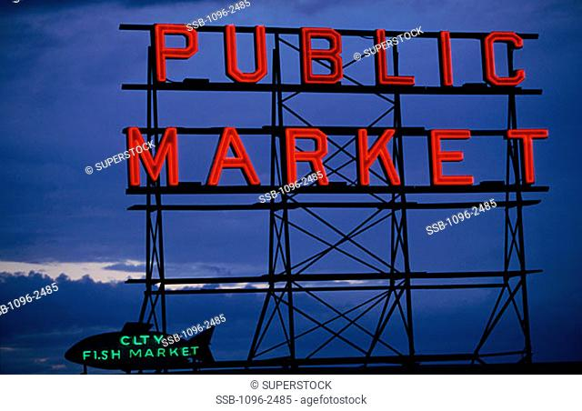 Pike Place Market Seattle Washington, USA