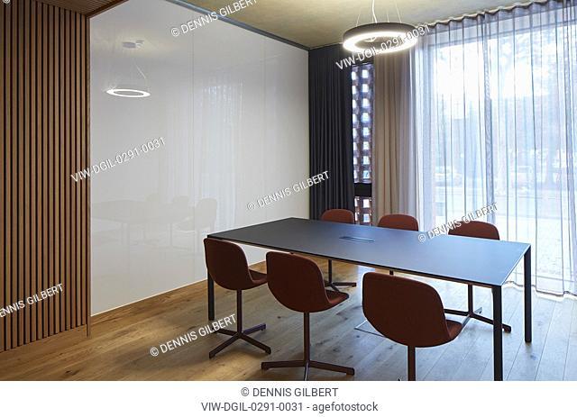 Ground floor supervision room. Newnham College, Cambridge, Cambridge, United Kingdom. Architect: Walters and Cohen Ltd, 2018