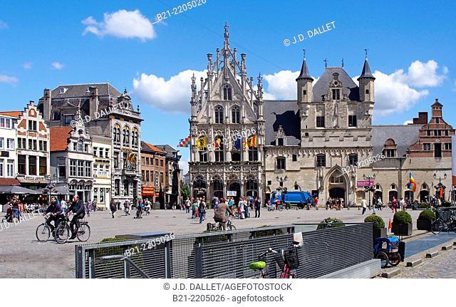 Belgium. Mechelen. Town Hall