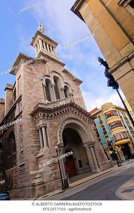 Basilica of Sacred Heart, Basilica del Sagrado Corazón, Gijón, Asturias, Spain, Europe