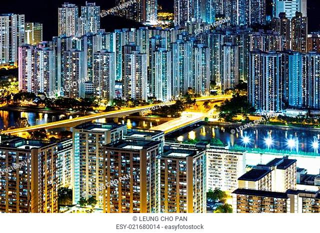 New territories district in Hong Kong