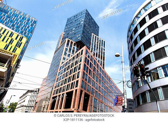 Modern architecture in Vienna, Austria