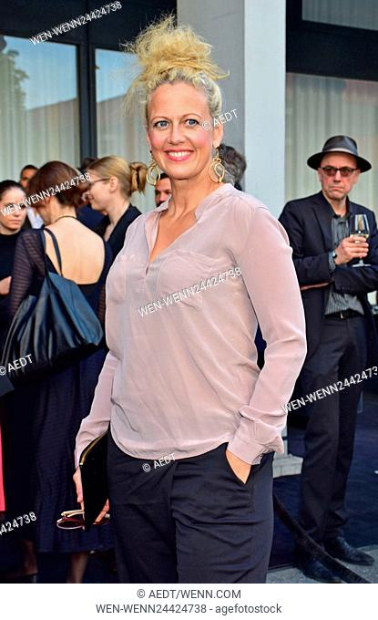 Opening party Julia Stoschek Collection (JSC) at Leipziger Strasse Featuring: Barbara Schoeneberger Where: Berlin, Germany When: 01 Jun 2016 Credit: AEDT/WENN