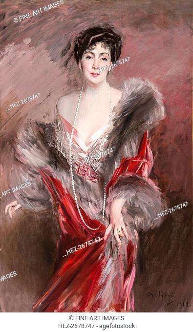 Señora Matías de Errázuriz Ortúzar, née Josefina Virginia de Alvear Fernández Coronel, 1912