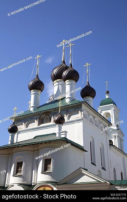 Elijah the Prophet Church, UNESCO World Heritage Site, Yaroslavl, Golden Ring, Yaroslavl Oblast, Russia