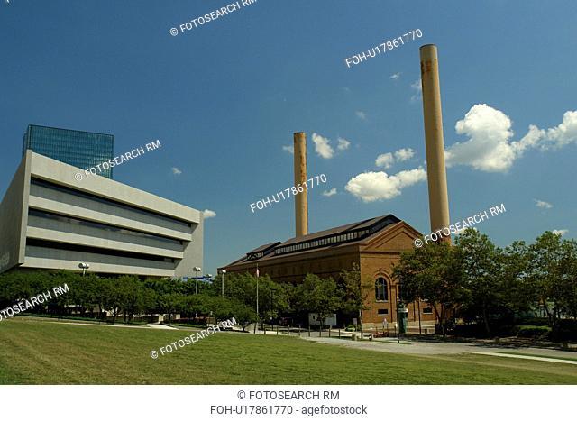 Toledo, OH, Ohio, Downtown Skyline, Promenade Park