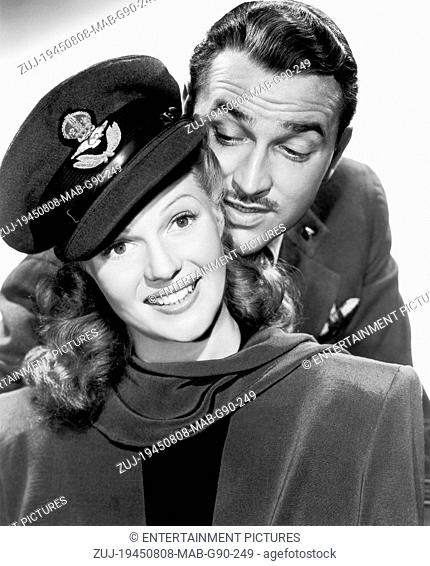 RELEASED: Jan 9, 1945 - Original Film Title: Tonight and Every Night. PICTURED: RITA HAYWORTH, LEE BOWMAN. (Credit Image: © Entertainment Pictures/Entertainment...