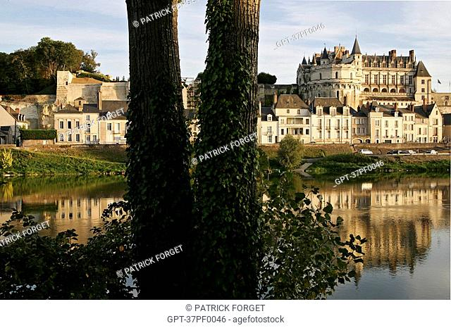 CHATEAU BY THE LOIRE, AMBOISE, INDRE-ET-LOIRE 37, FRANCE