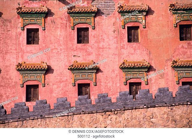 Happy Long Living Monastery. Jehol (Chengde). Hopeh (Hebei)  province. China