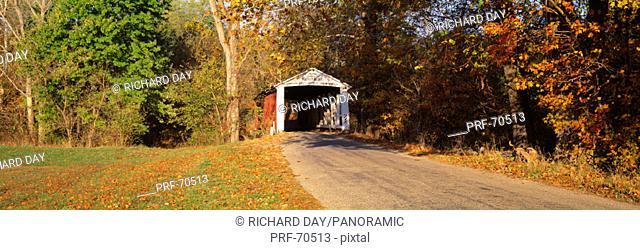 Melcher Covered Bridge Parke Co IN USA