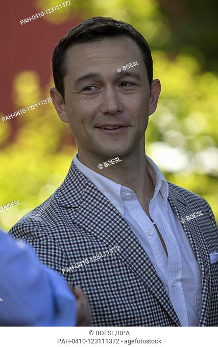 Joseph Gordon Lewitt poses at the photocall of '7500' during the Film Festival in Locarno, Switzerland, on 09 August 2019. | usage worldwide