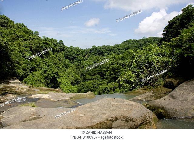 The waterfalls, at Sitakundo eco park, in Chittagong, Bangladesh August 20, 2008 The Sitakunda Botanical Garden and Eco-park was established