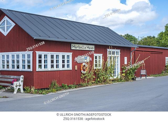 Harbolle Havn, Moen Island, Denmark, Scandiavia, Europe. Harbolle Havn, Insel Mön, Dänemark, Skandinavien, Europa