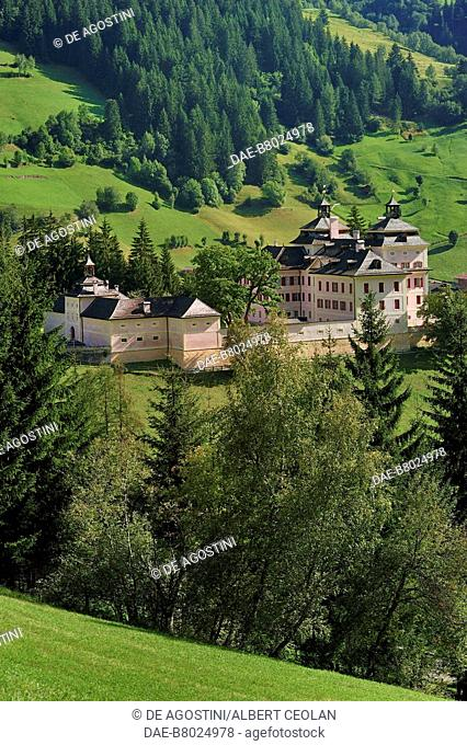 Mareta Castle or Wolfsthurn Castle, home to the Hunting and Fishing Museum, Ratschings, Eisack Valley, Trentino-Alto Adige, Italy, 16th-18th century