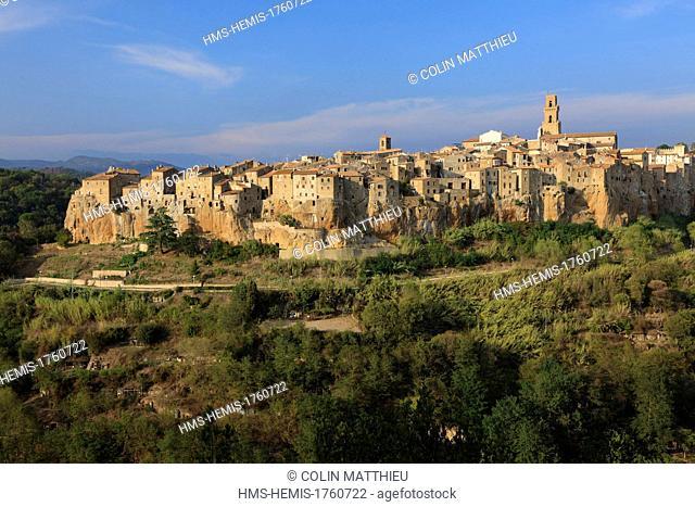 Italy, Tuscany, Maremma, Pitigliano