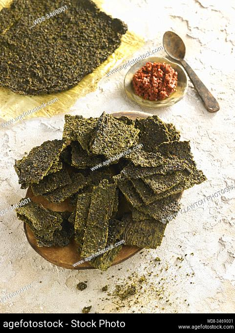 Crackers verdes picantes / spicy green crackers