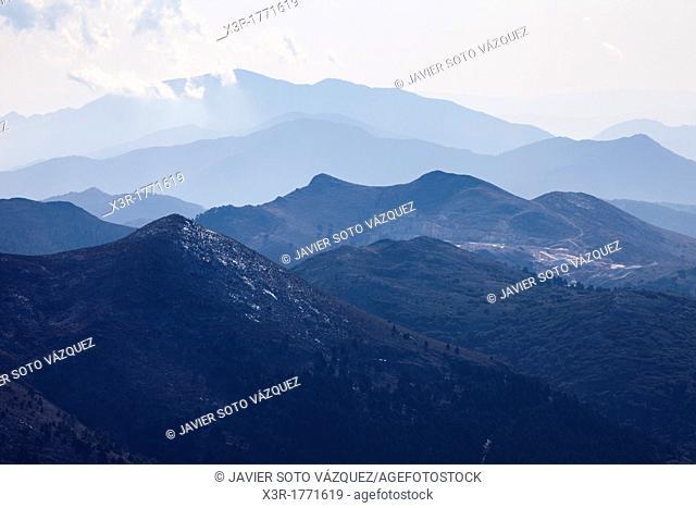 Winter landscape in the Sierra de la Nieves - Malaga