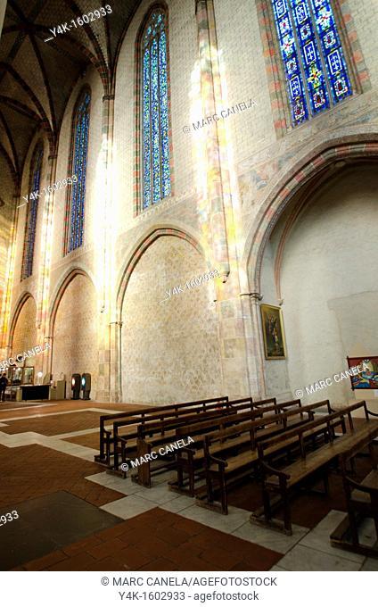 Europe, France, Toulouse Jacobins Monastery