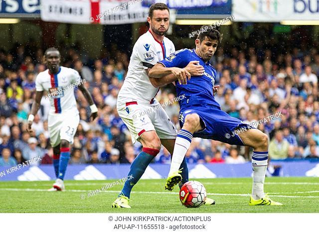 2015 Barclays Premier League Chelsea v Crystal Palace Aug 29th. 29.08.2015. Stamford Bridge, London, England. Barclays Premier League