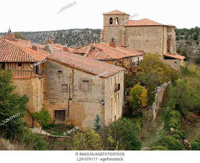 Calatañazor. Soria province. Spain