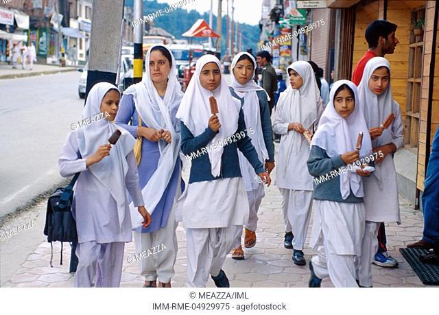 Kashmir college girls remarkable, rather