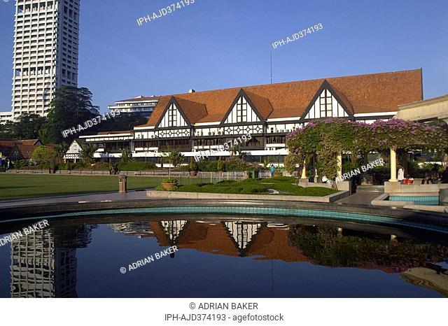 Malaysia - Kuala Lumpur, The Royal Selangor Club in Merdeka Square