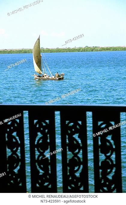 Lamu Island. Indian Ocean Coast. Kenya