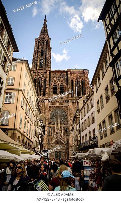 Strasbourg Cathedral; Strasbourg, France