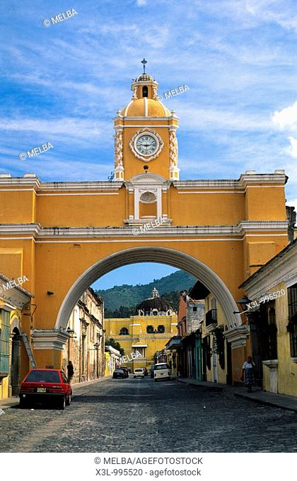 Arch of Santa Catalina  Antigua Guatemala  Guatemala