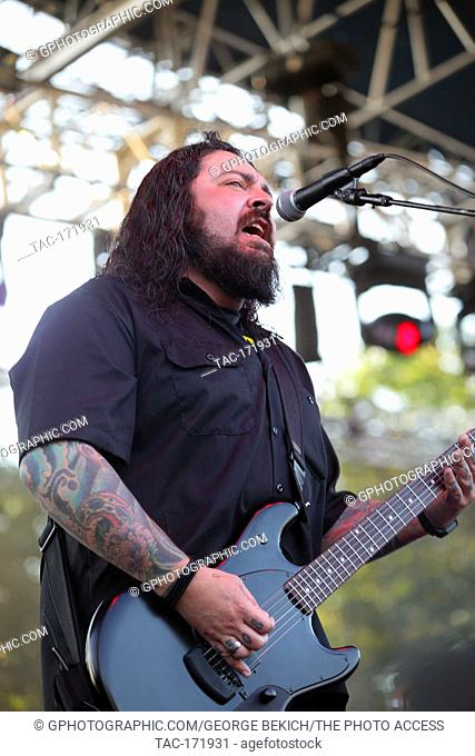 Shaun Morgan Leadsinger for Seether Performs at Inkcarceration 2019