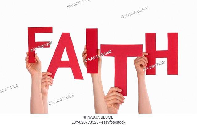 Hands Holding Faith