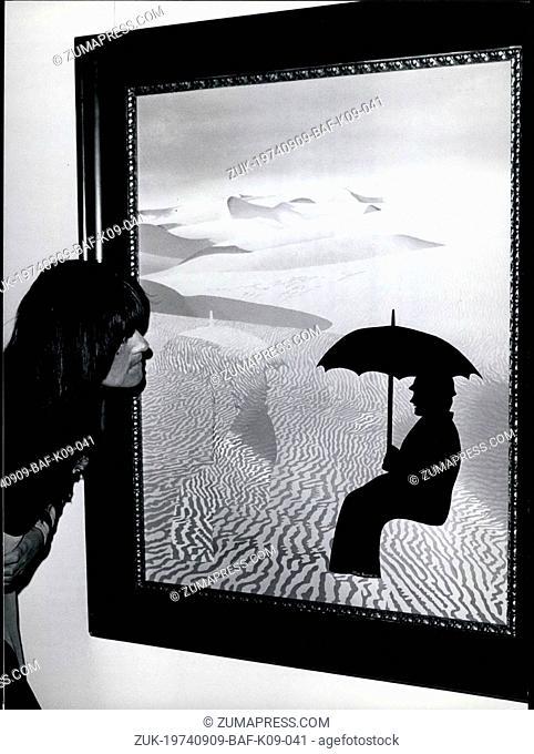 Sep. 09, 1974 - Great Art Exhibition Munich: The most greatest 'Grobe Kunstauestellung Munchen' will be opened in the 'Haus der Kunst' on June 13, 1974