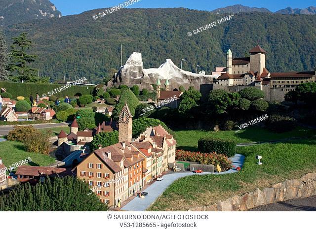 Swissminiatur in Melide - Canton Ticino - Switzerland