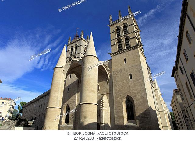 France, Languedoc-Roussillon, Montpellier, St-Pierre Cathedral